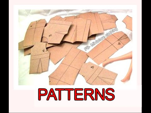 Pattern Drafting Basic Patterns For Barbie Youtube