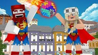 Wir halten den Lucky Block Meteorit auf!