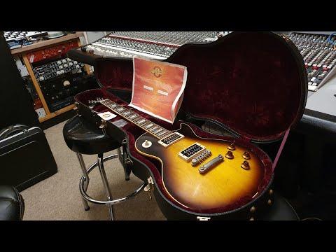 Gibson Slash Piezo Les Paul Signature Guitar 2004 Up Close Video Review