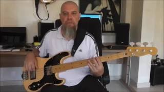 So Much Trouble In The World - Bob Marley & The Wailers - Bass Cover by Michel Roth