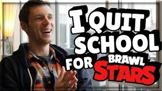Gambar cover Why I Quit School to be a Brawl Stars YouTuber! | My Story