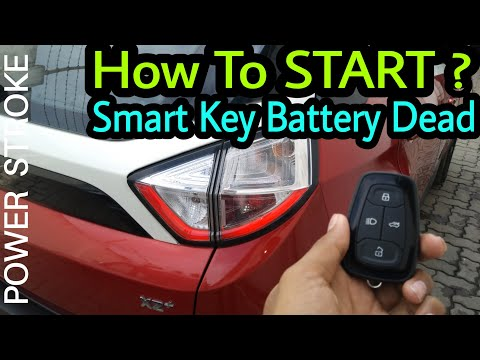 Tata Nexon owner shows how to start car when battery of your