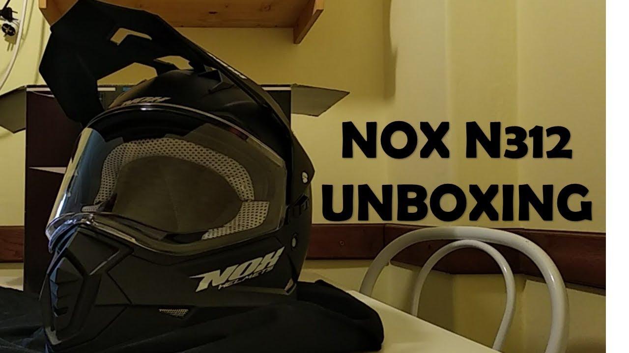Nox N312 Helmet Unboxing Youtube