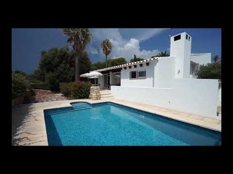 Villa on ground floor with swimming pool in Binissafúller, Menorca.