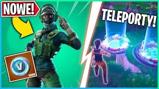 A NEW SET OF SKINS! TELEPORTS IN THE NEW BUNKER! (Fortnite Battle Royale)