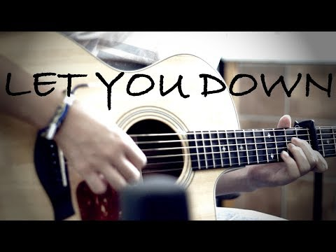 NF - Let You Down - Fingerstyle Guitar Cover by Harry Cho