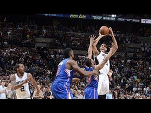 Duncan's and 1 game-winner vs Clippers!