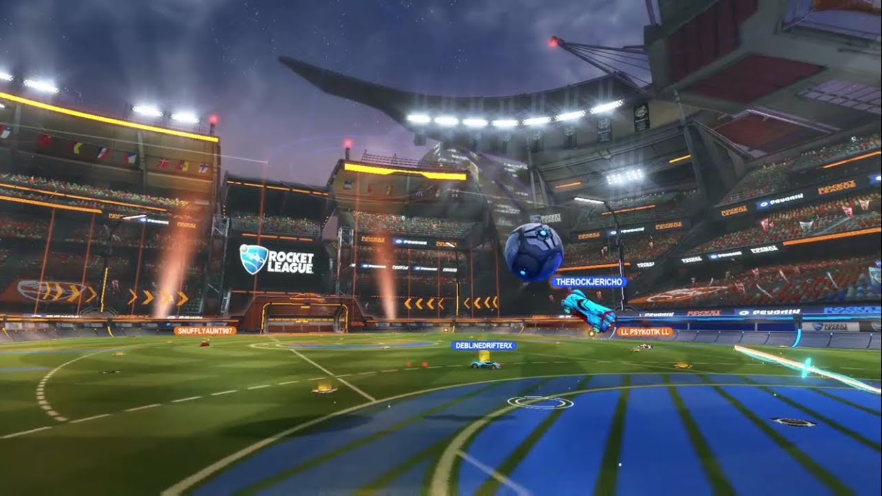 The Comeback Champions Field Cinematic Rocket League Youtube