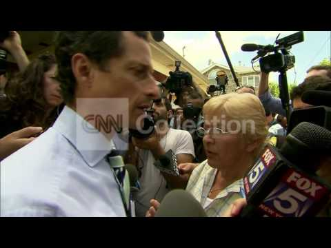 WEINER AND VOTER IN HEATED EXCHANGE (LONG)