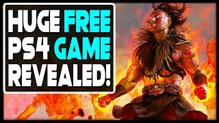 HUGE FREE PS4 GAME REVEALED - NEW RPG!