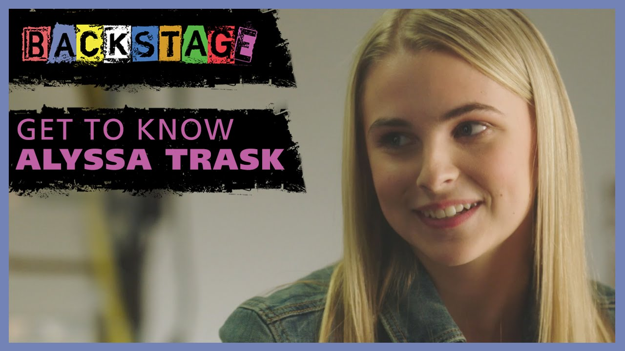 Get To Know Alyssa Trask From Backstage Youtube