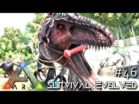 ARK: Survival Evolved - GIGANOTOSAURUS & BASE DEFENSE!!! - SEASON 3 [S3 E46] (Gameplay)