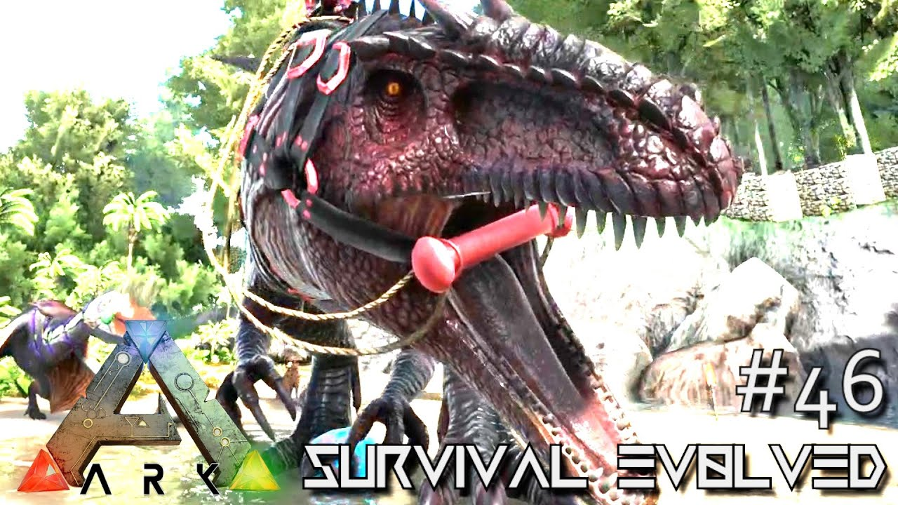 Ark survival evolved giganotosaurus base defense season ark survival evolved giganotosaurus base defense season 3 s3 e46 gameplay youtube malvernweather Images