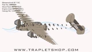 Messerschmitt Bf 110 Rc Model Plan