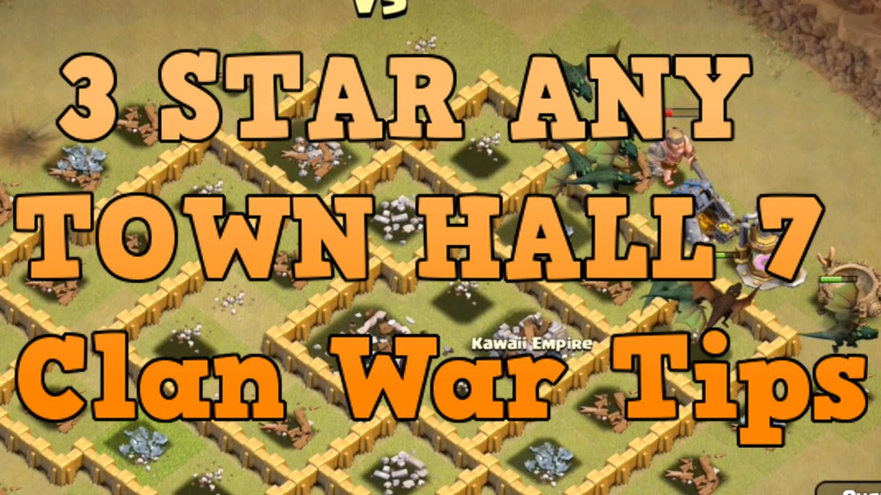 best clash of clans attack strategy th7