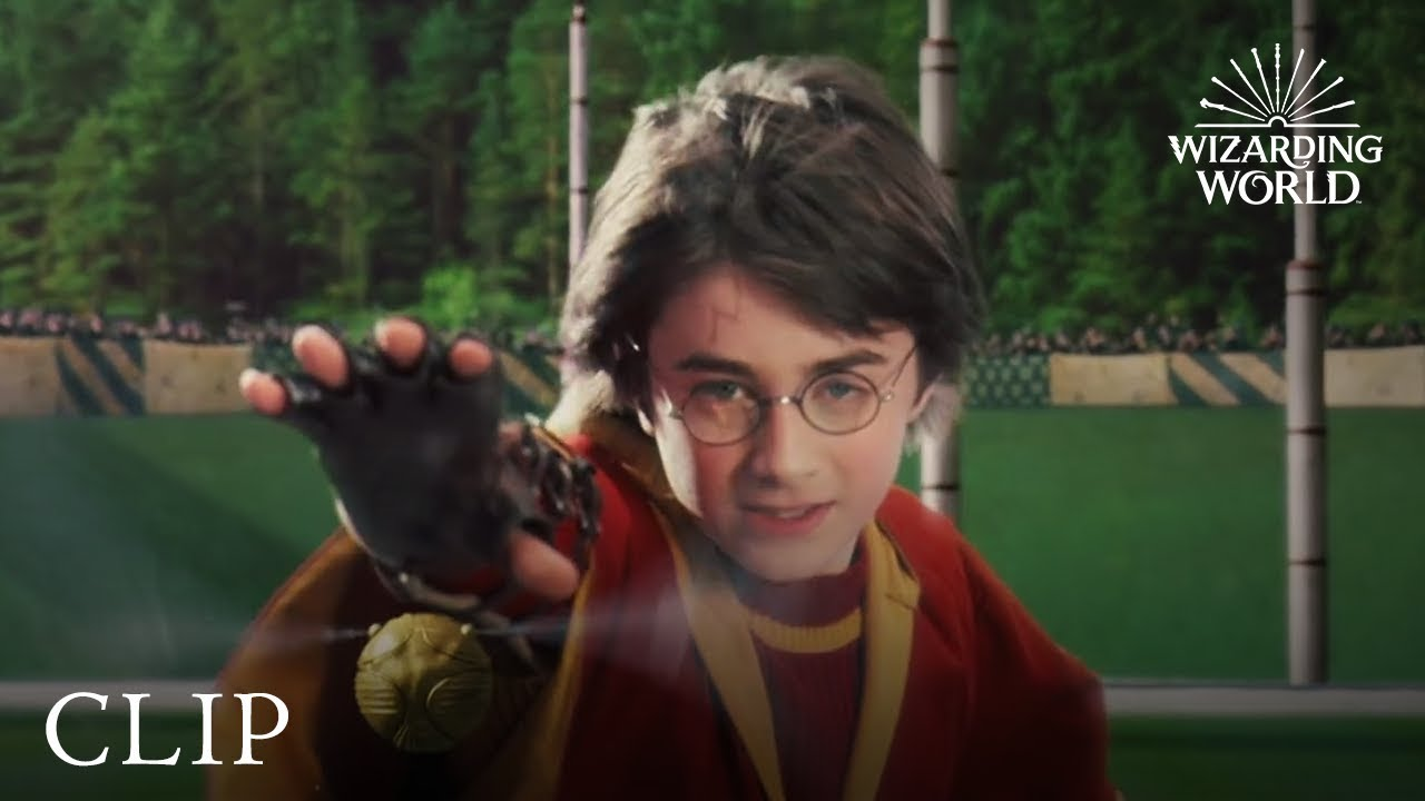 Download Harry's First Quidditch Match Against Slytherin - Harry Potter and the Philosopher's Stone