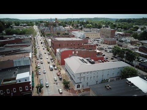 Drone Views Of Lancaster, Ohio