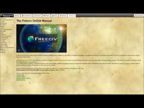 Freeciv Beginner's Guide