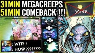 SLARK ULTIMATE BUIILD - Megacreeps Comeback so Far Dota 2 Mjollnir
