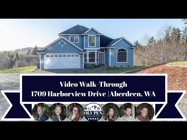 1709 Harborview Drive | Aberdeen, WA | Video Walk-Through