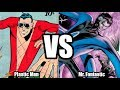 Plastic man vs Mr. Fantastic|SuperHeroes 2000
