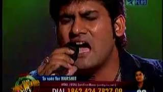 jaane jaan harshit saxena standing ovation by judges shreya ghoshal started singing