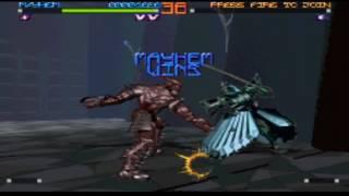 Rise 2: Resurrection (PS1) Hidden Characters (4/5): Mayhem gameplay.