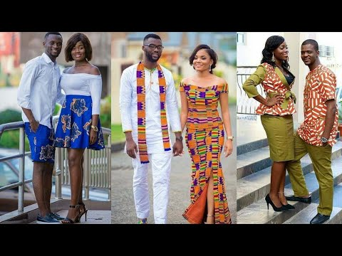 Couples In Matching African Ankara Couple Outfits Never Looked This Good.