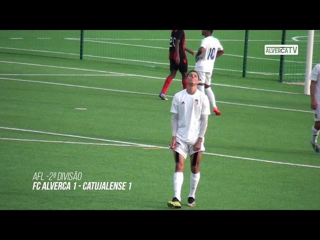 FC Alverca B 1 Catujalense 1 - Highlights