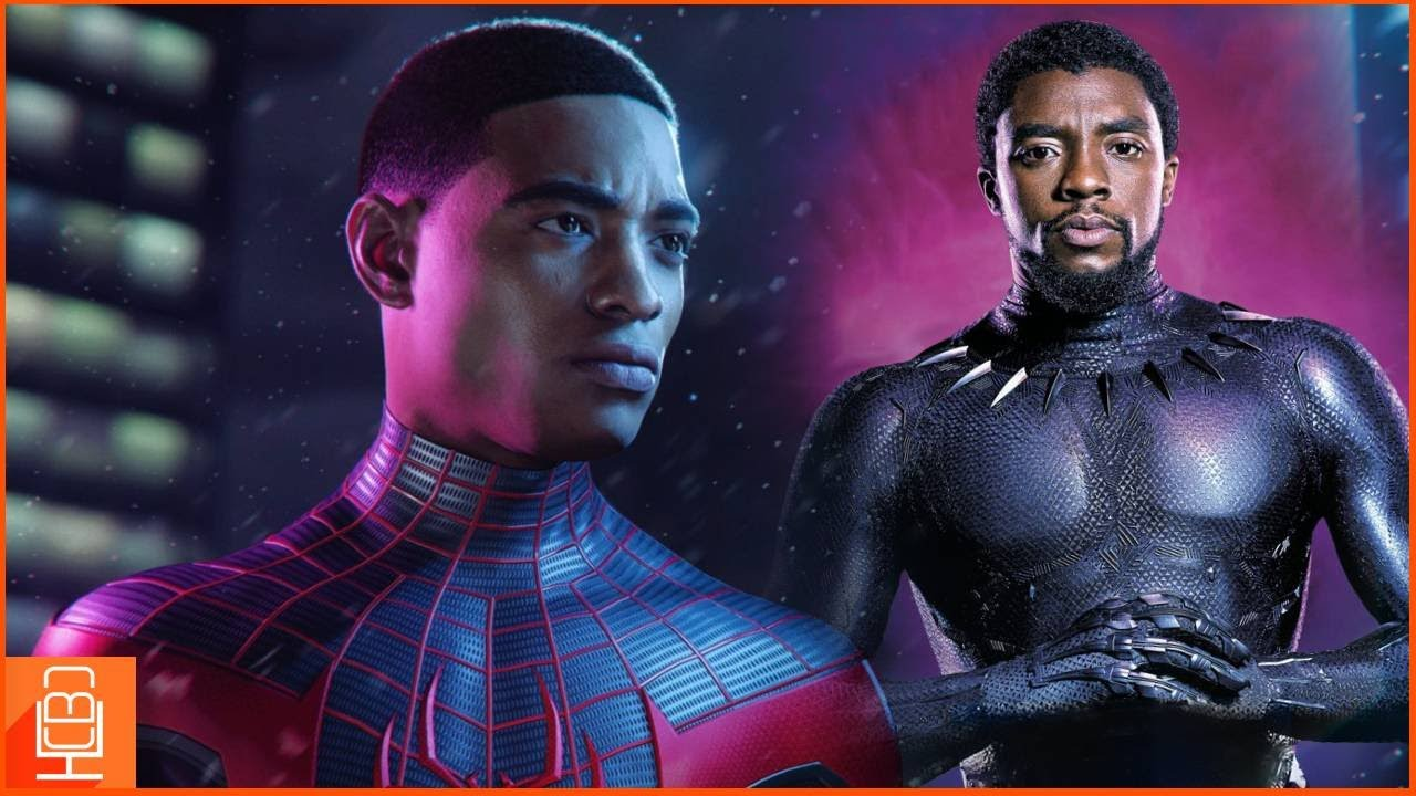 Spider-Man Miles Morales Pays Tribute to Black Panther's Chadwick Boseman