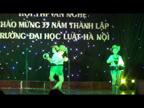 HLU - Giải vàng tốp ca - Chuyện tình thảo nguyên, Khoa HCNN - Liên hoan Văn nghệ 2014