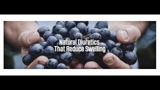Natural Diuretics That Reduce Swelling