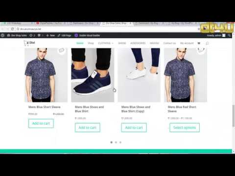 How to Create a Ecommerce Website with Divi Part-2 in Hindi By arunmaurya.net