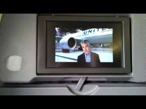 HD New United Continental Airlines Safety Video Boeing 737-800 February 2012 English and Spanish
