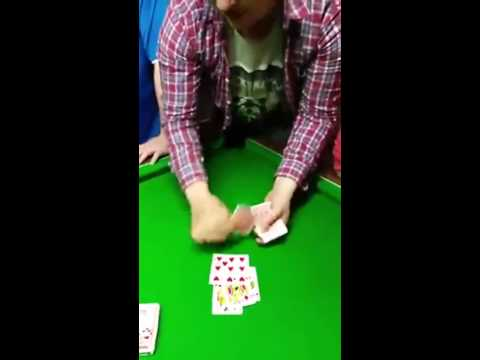 VIDEO: Irish Lad's Unbelievable Card Trick Story