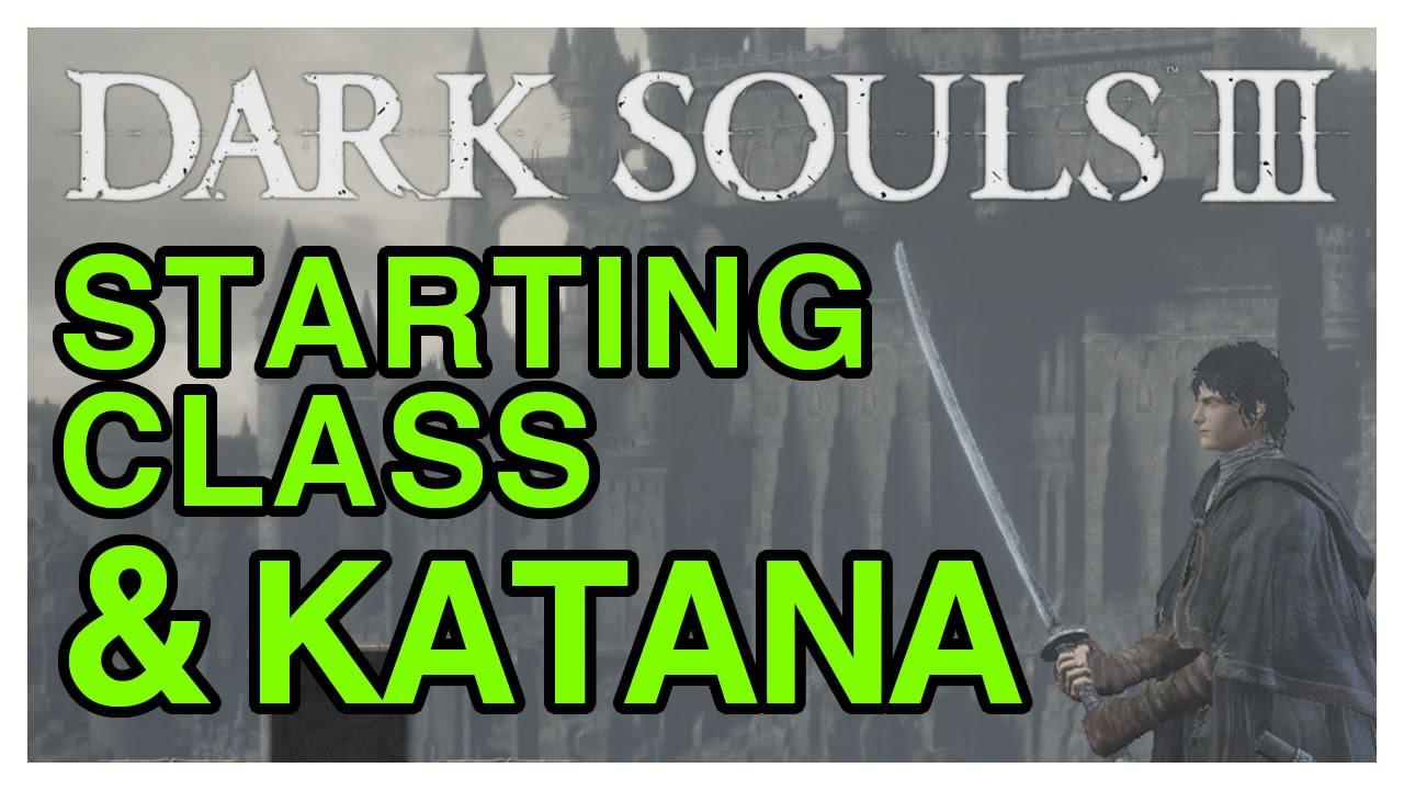 Dark Souls 3 Walkthrough Part 1 - Starting Class, Katana & Raw Gem ...
