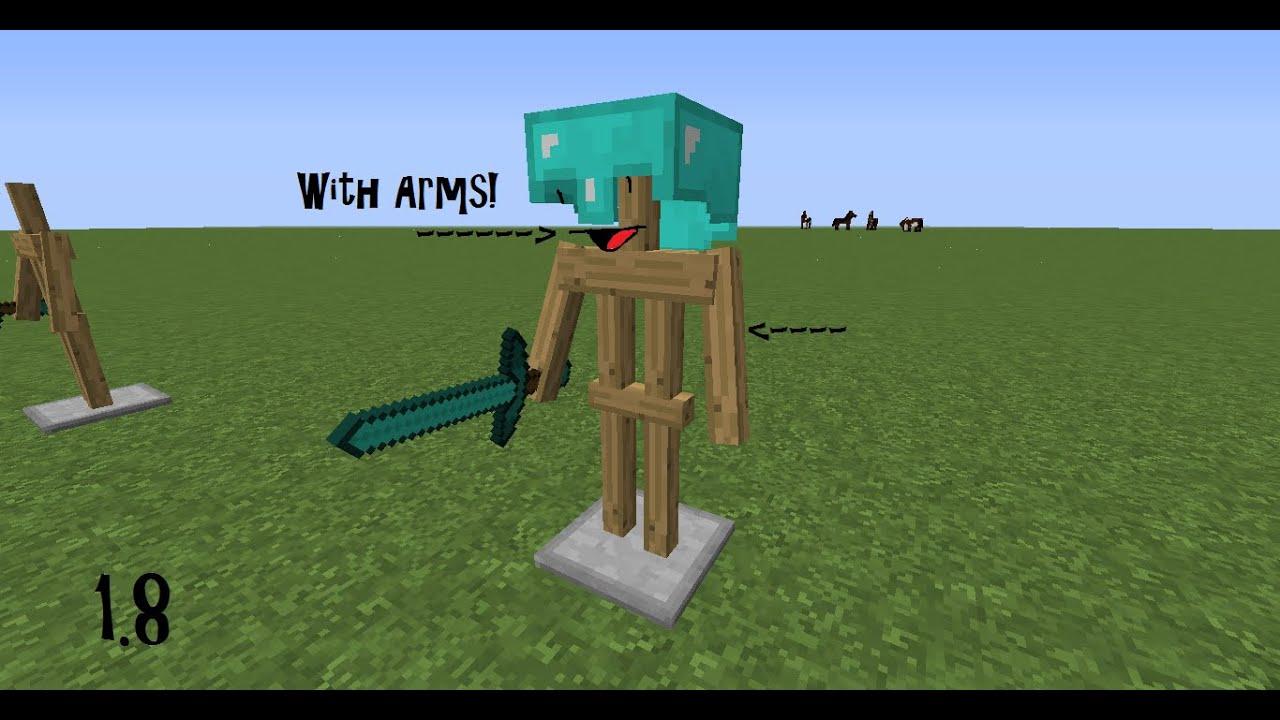 Crafting Armor Stand Minecraft