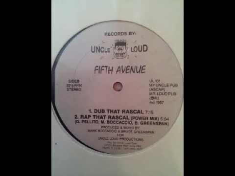 Fifth Avenue - Rap That Rascal 1987 Complete 12'' Maxi