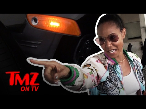 Jada Pinkett Smith Goes After Paparazzi For Scratching Her Car | TMZ TV