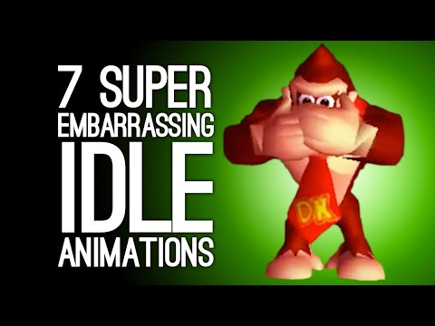 7 Embarrassing Idle Animations Your Heroes Wish You Hadn't Seen