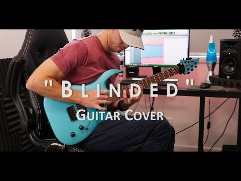 """As I Lay Dying - """"Blinded"""" // Guitar Cover (With Tab)"""