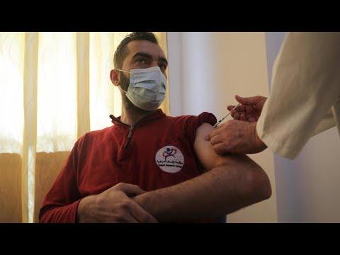 فيروس كورونا: انطلاق حملات التلقيح في شمال غرب سوريا عقب وصول 50 ألف جرعة من أسترازينيكا