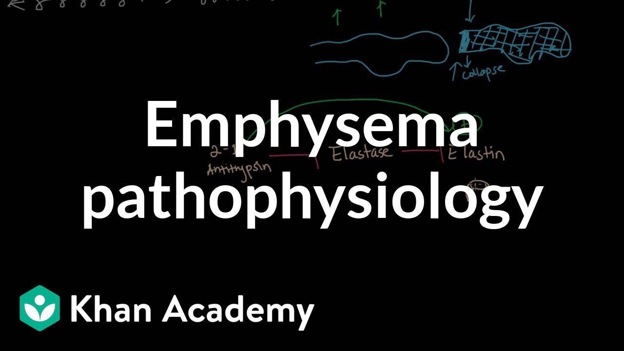 Emphysema pathophysiology (video) | Khan Academy