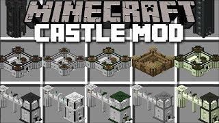 Minecraft CASTLE MOD / BUILD CASTLE