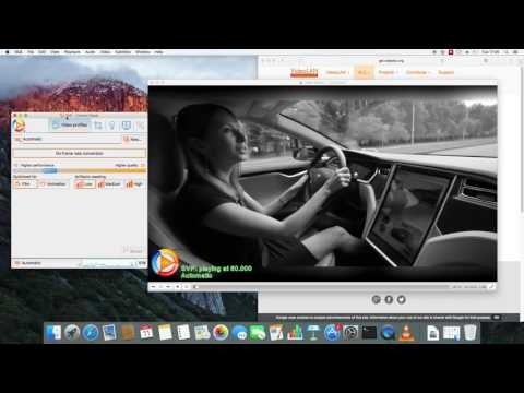 SVP 4 Mac - 60 fps playback in macOS - motion interpolation