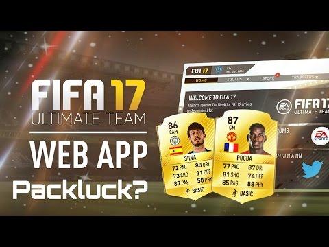 FIFA 17: WEB APP DEUTSCH- PACK OPENING + ERSTER EINDRUCK! KEIN TRANSFERMARKT!