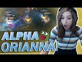 SHOT-CALLER POKI HITS ALL HER ULTIMATES!! | Orianna Mid Lane!