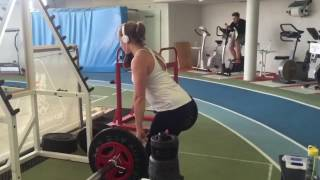 Winter Sport Training: Lizzy Yarnold - Skeleton