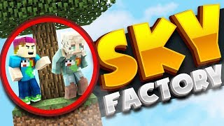 CAN I TEACH MY GIRLFRIEND THE WAY? - Sky Factory Ep: 01