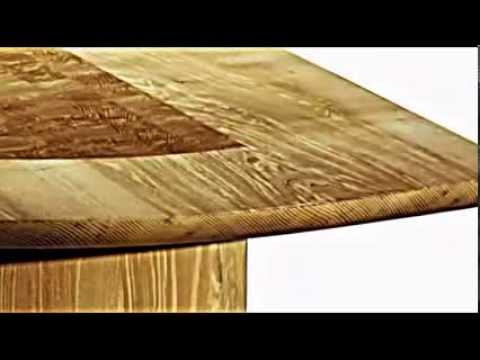 Der Ausziehbare Esstisch Mit Architektonischem Look Von Matthew Burt    YouTube